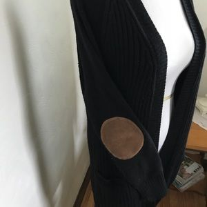 RD Style size large cardigan with patch elbows